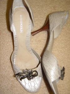 A pair of my 95 year old Mother's shoes...